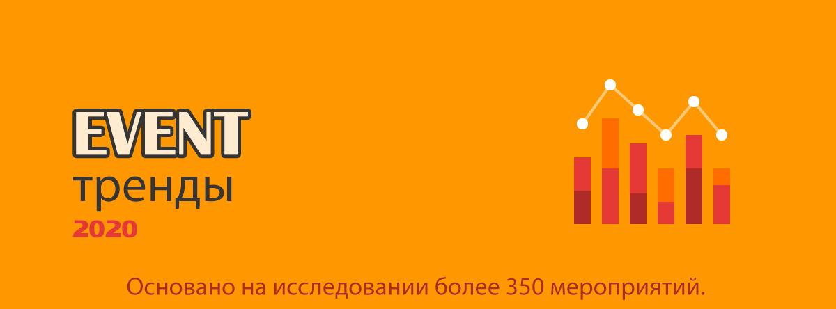 ТОП-10 event-трендов 2020 года. <br> Часть 1.